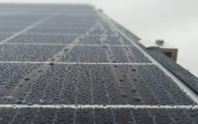 Can you install solar in the rain?
